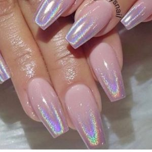 shiny nail design 140219