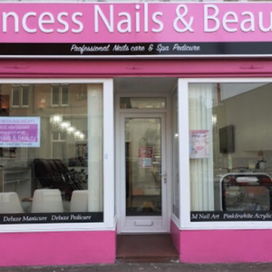 Princess Nails & Beauty shop front