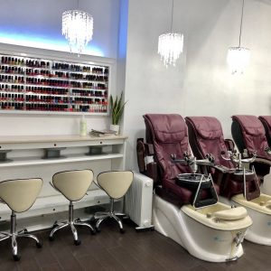 Princess Nails & Beauty shop interior 3