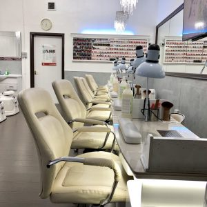 Princess Nails & Beauty shop interior 2