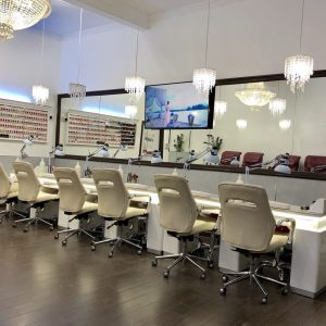 Princess Nails & Beauty shop interior 1