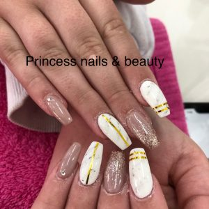 Multi Colour Nail Design
